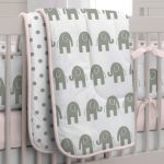 Elephant Nursery Bedding Inspirations