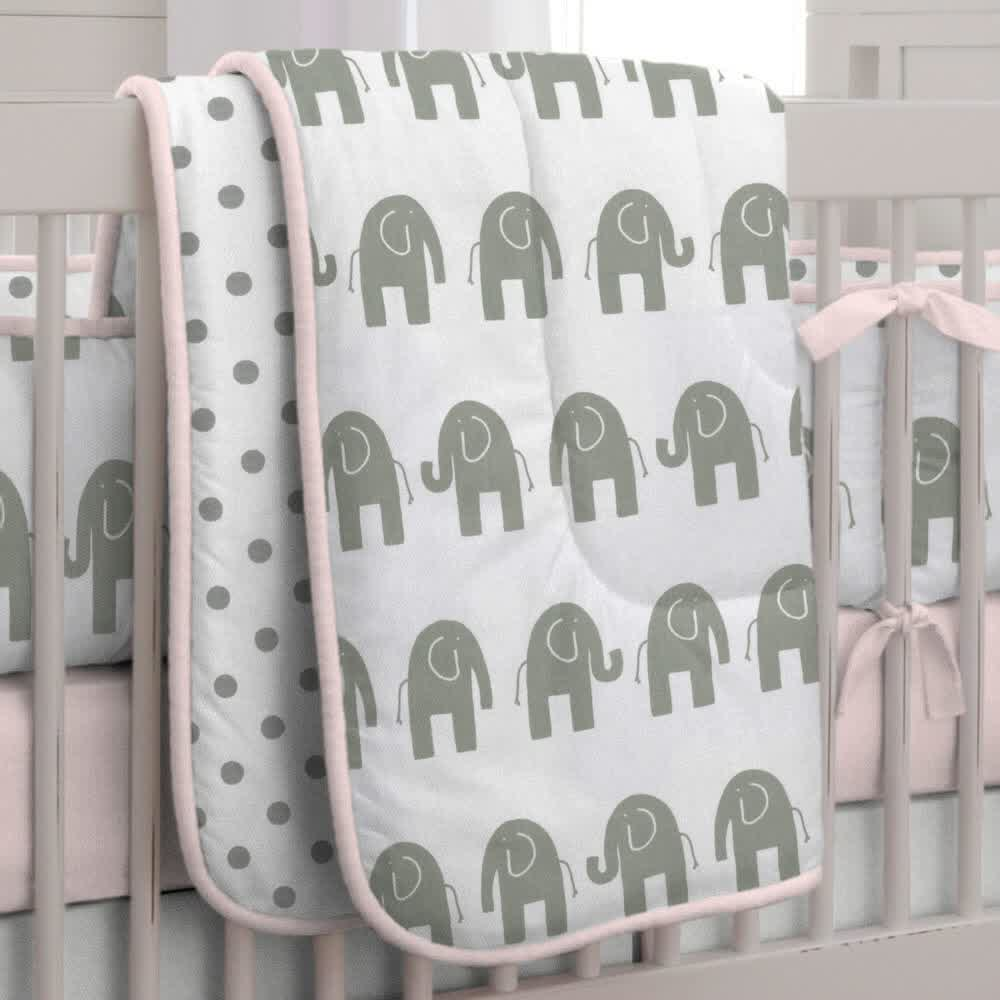 Picture of: Elephant Nursery Bedding Inspirations