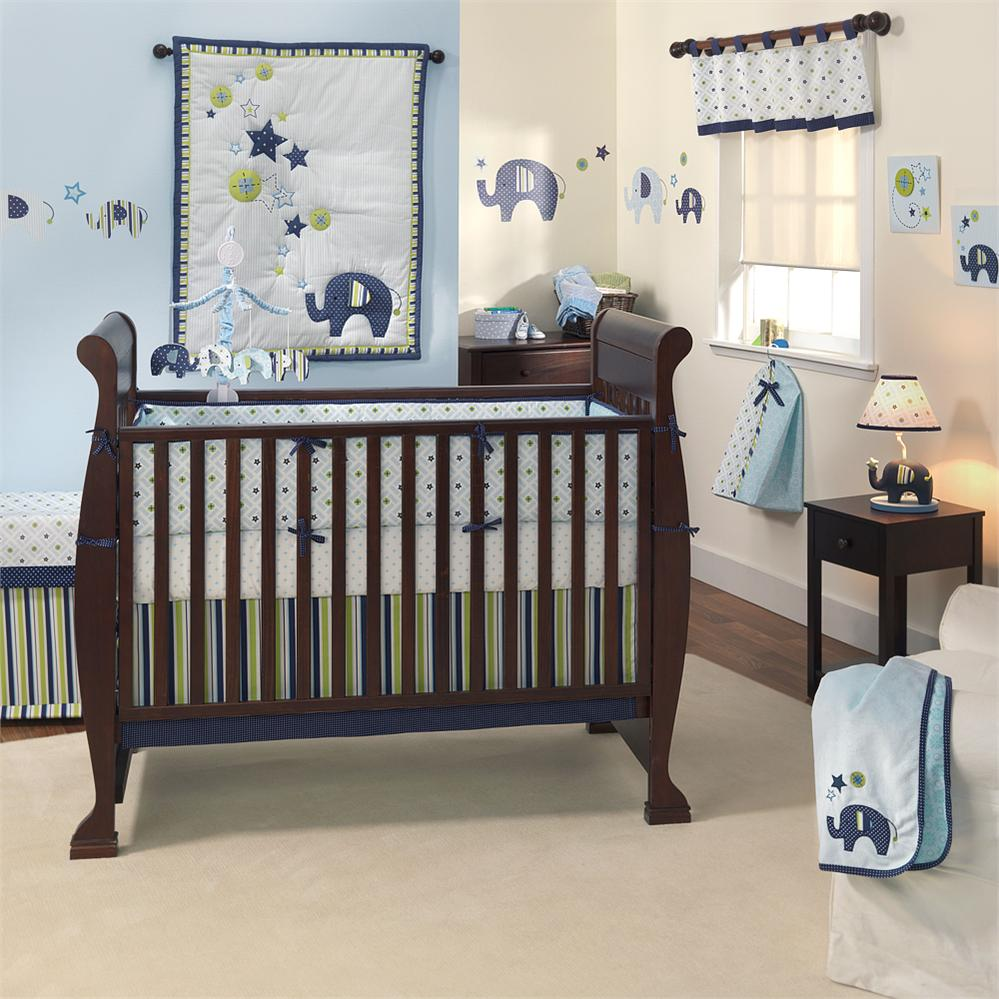 Picture of: Elephant Nursery Bedding