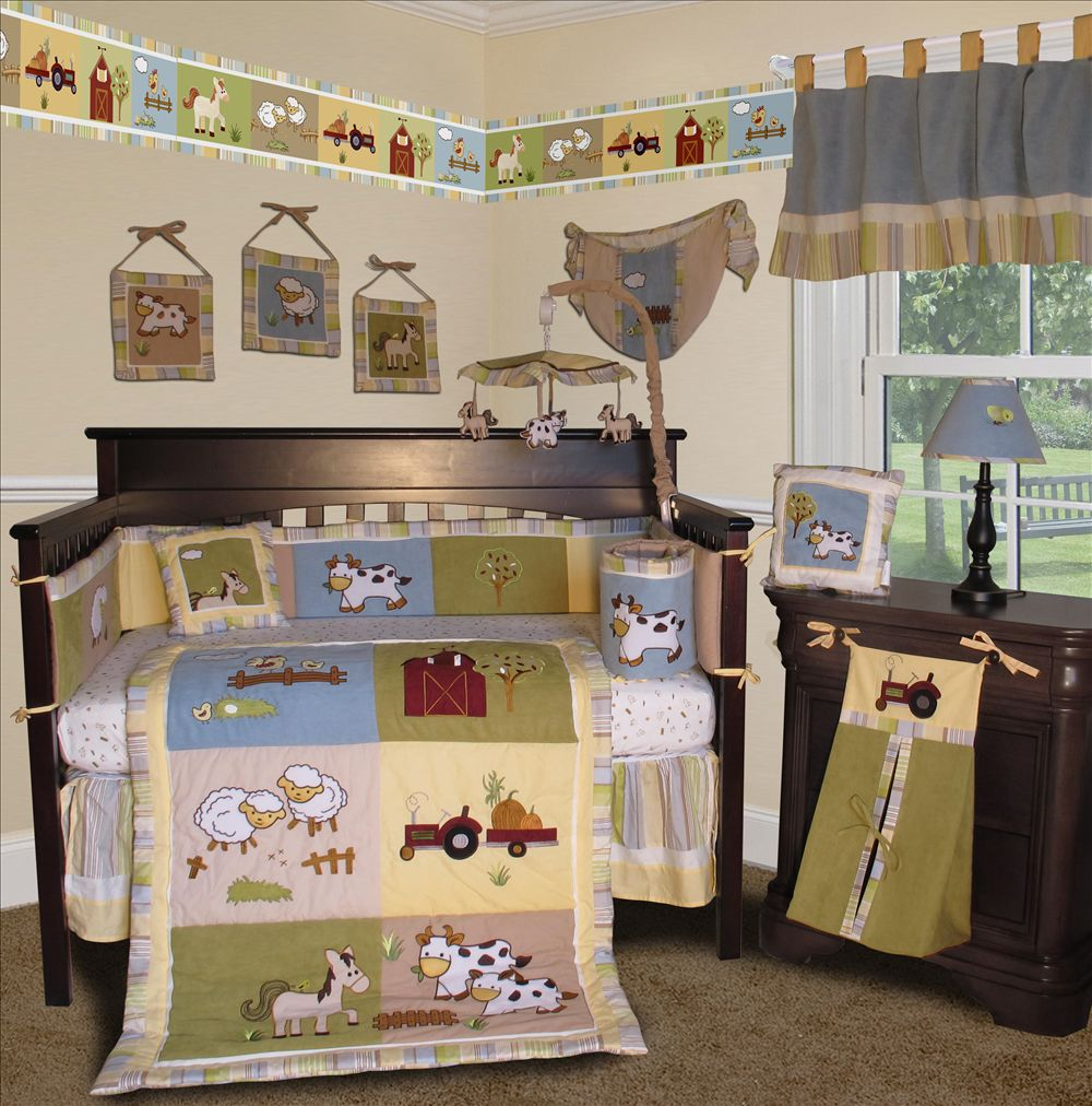 Picture of: Farm Nursery Bedding big