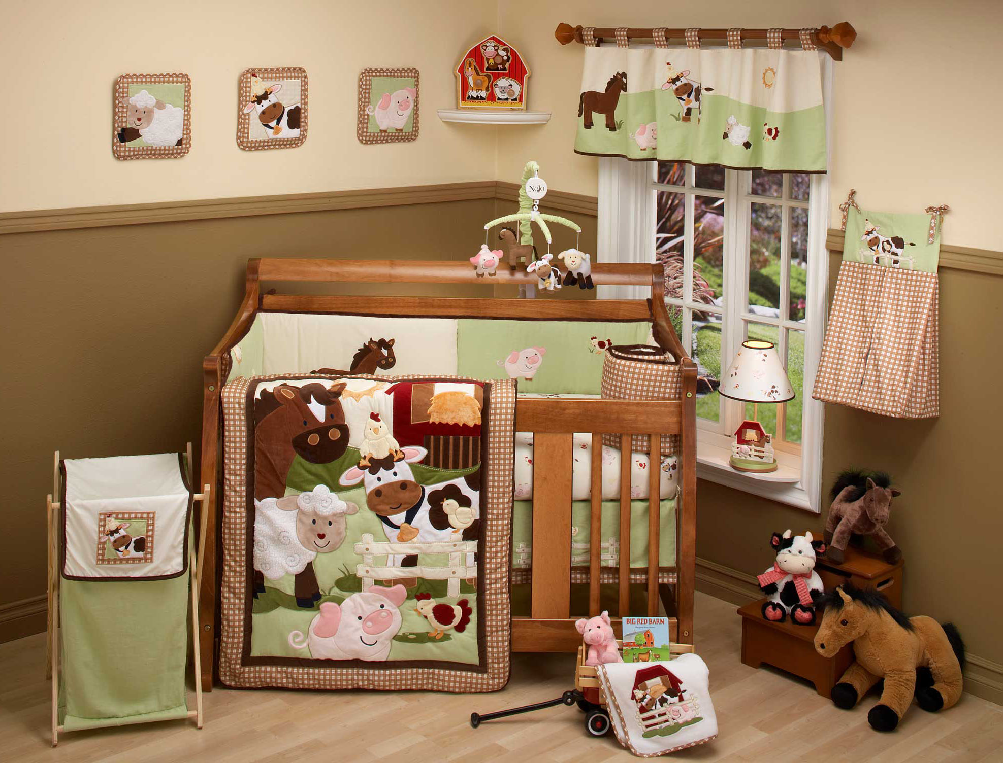 Picture of: Farm Nursery Bedding floor