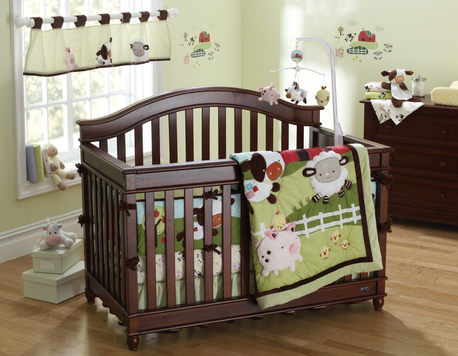 Picture of: Farm Nursery Bedding green