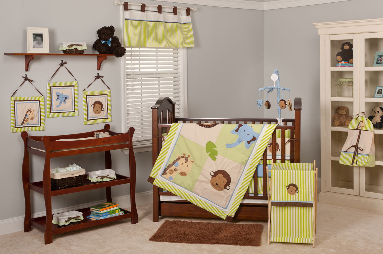 Picture of: Farm Nursery Bedding queen