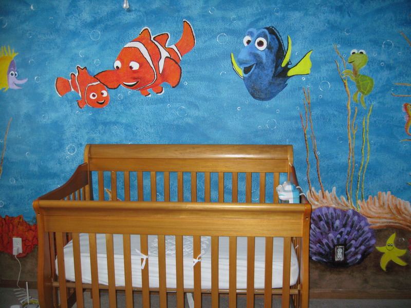 Picture of: Finding Nemo Nursery Decorating