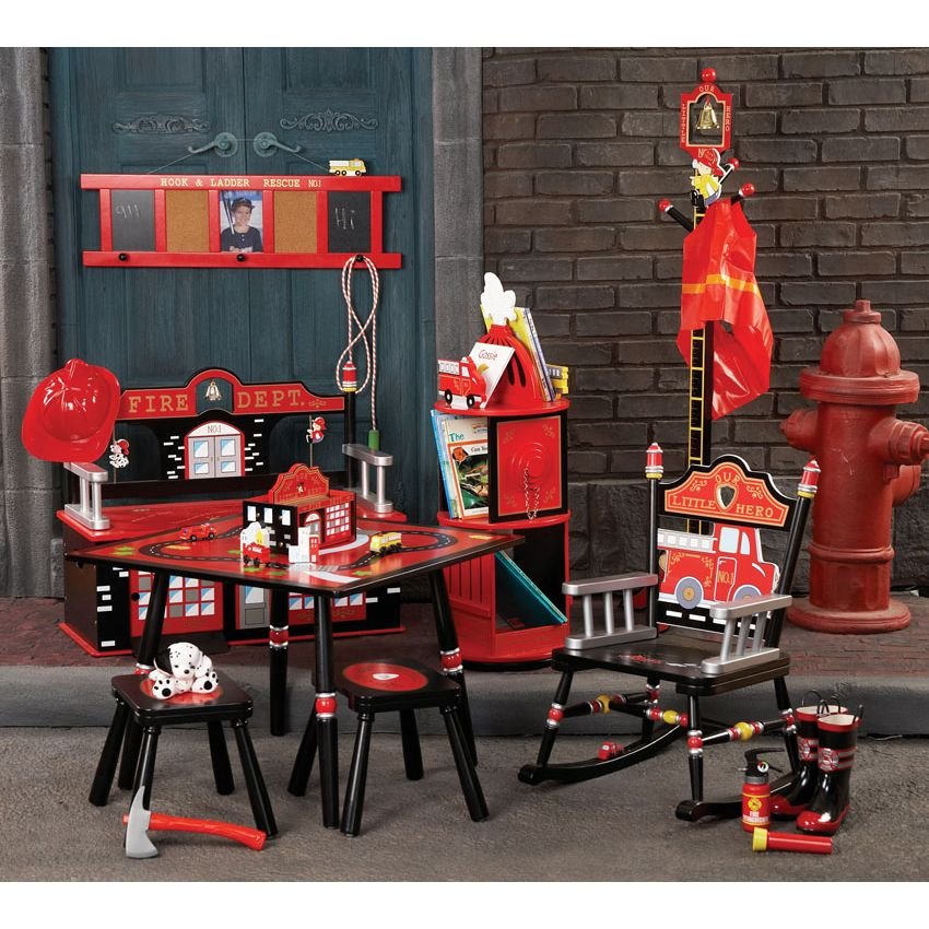 Image of: Firefighter Nursery Sets