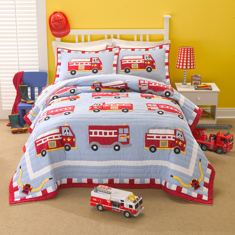 Image of: Firefighter Nursery Theme