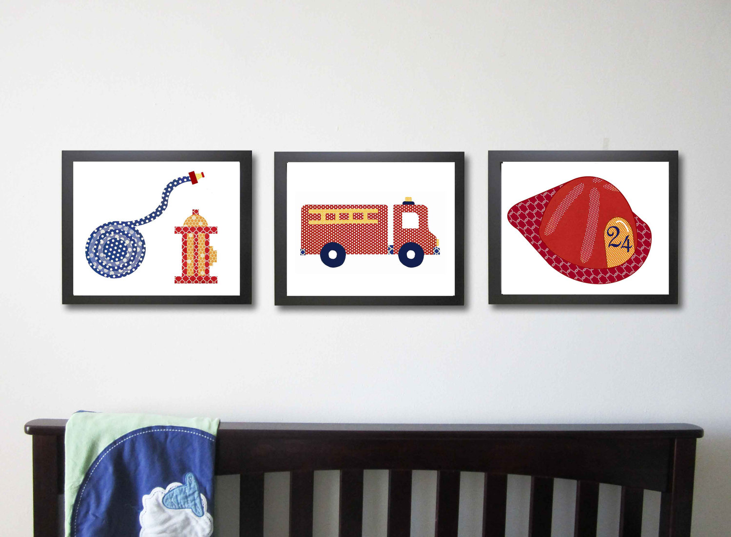 Image of: Firefighter Nursery