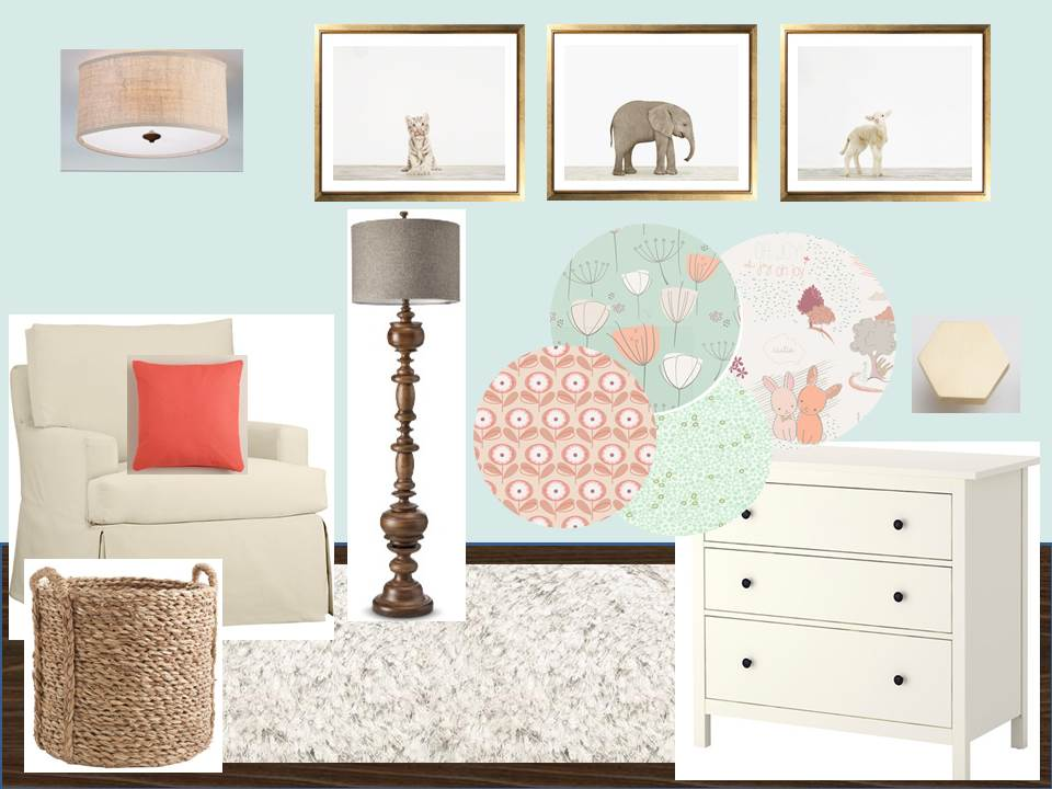 Image of: Forest Themed Nursery Design