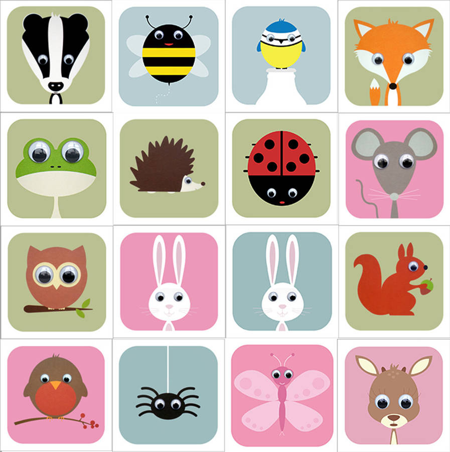 Image of: Frame Animal Prints for Nursery