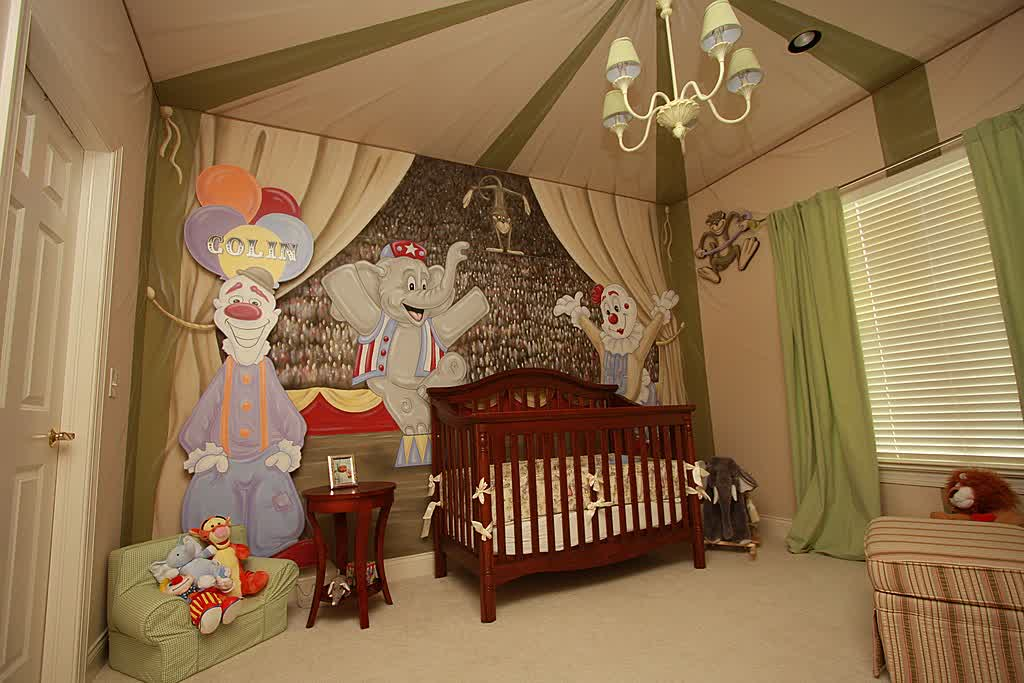 Image of: Big Gender Neutral Nursery Ideas