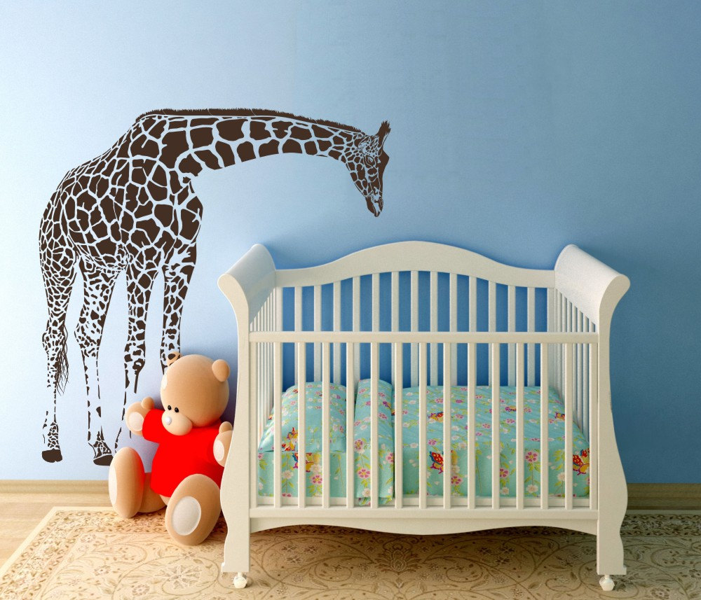 Image of: Giraffe Nursery Decor