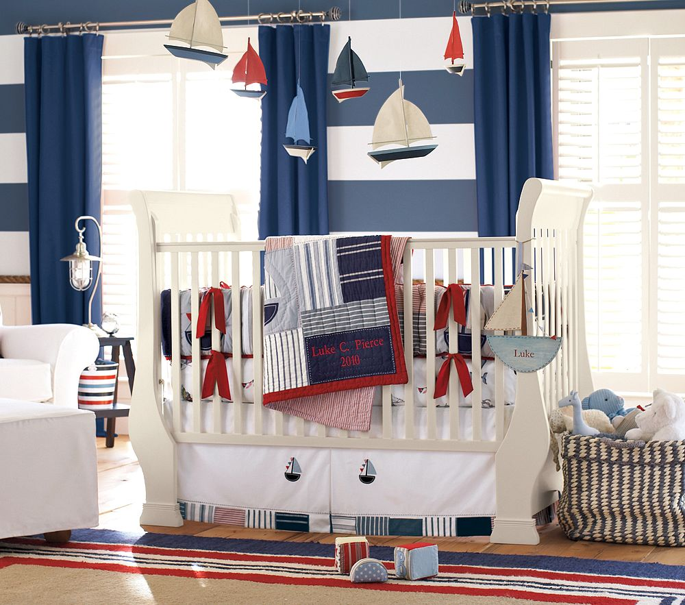 Picture of: Girl Nautical Nursery Decor