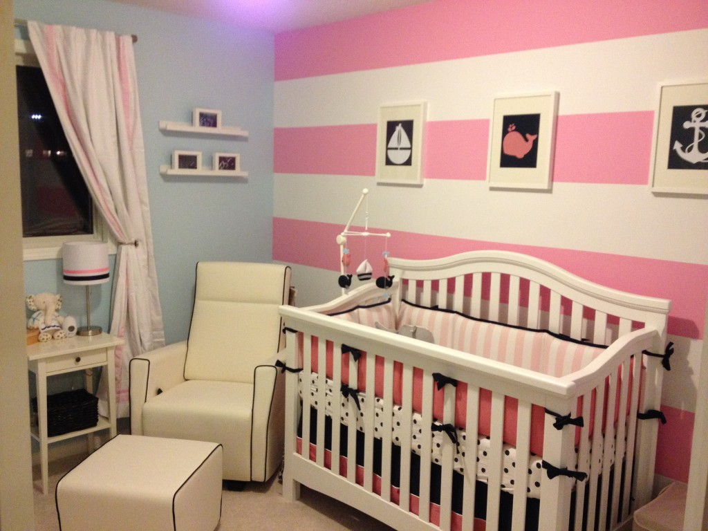 Picture of: Girl Nautical Nursery Ideas