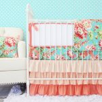 Girl Nursery Bedding green