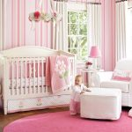 Girl Nursery Bedding pink