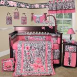 Girl Nursery Bedding red