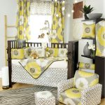 Girl Nursery Bedding yellow