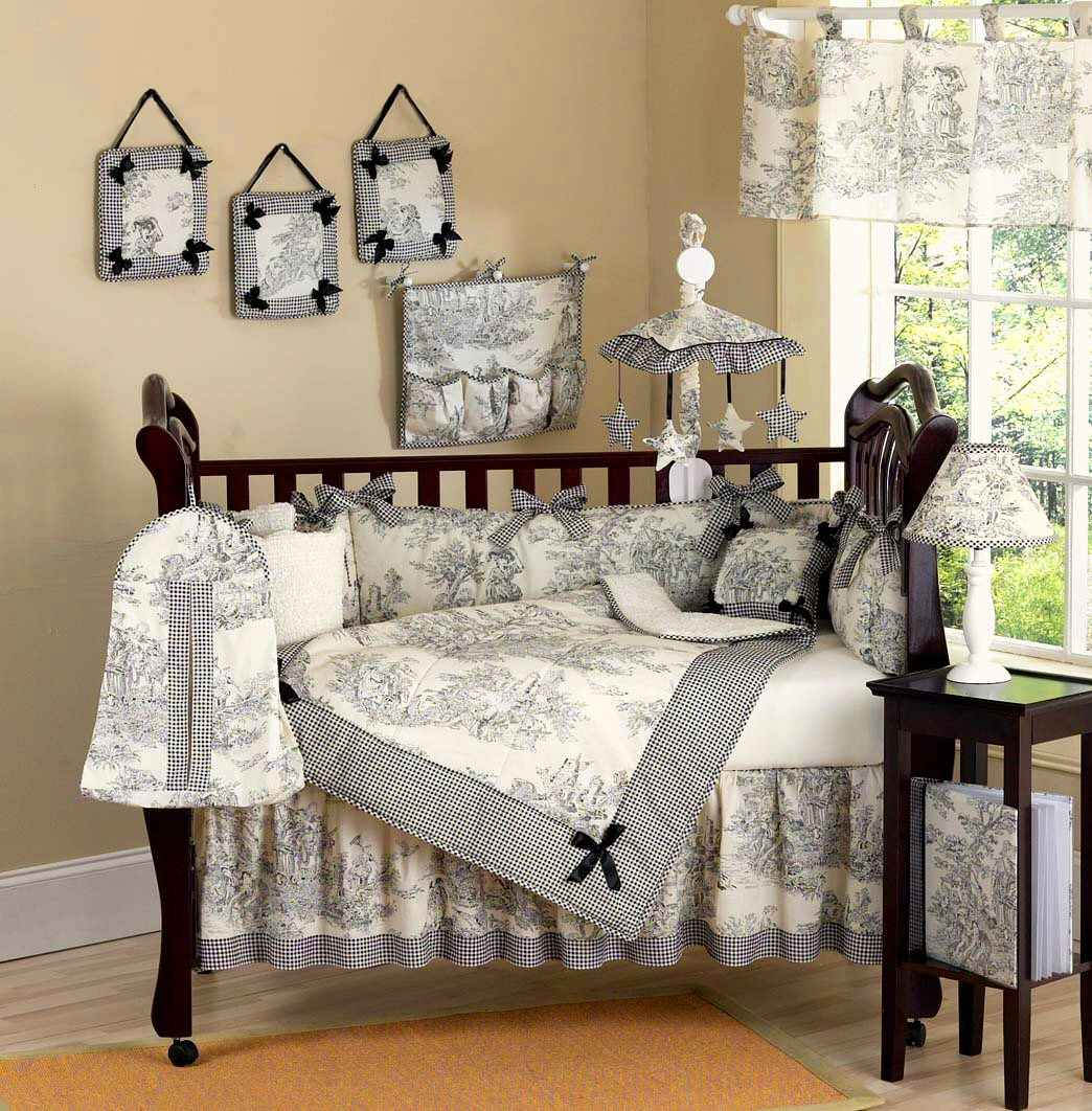 Picture of: Girl Nursery Bedding young