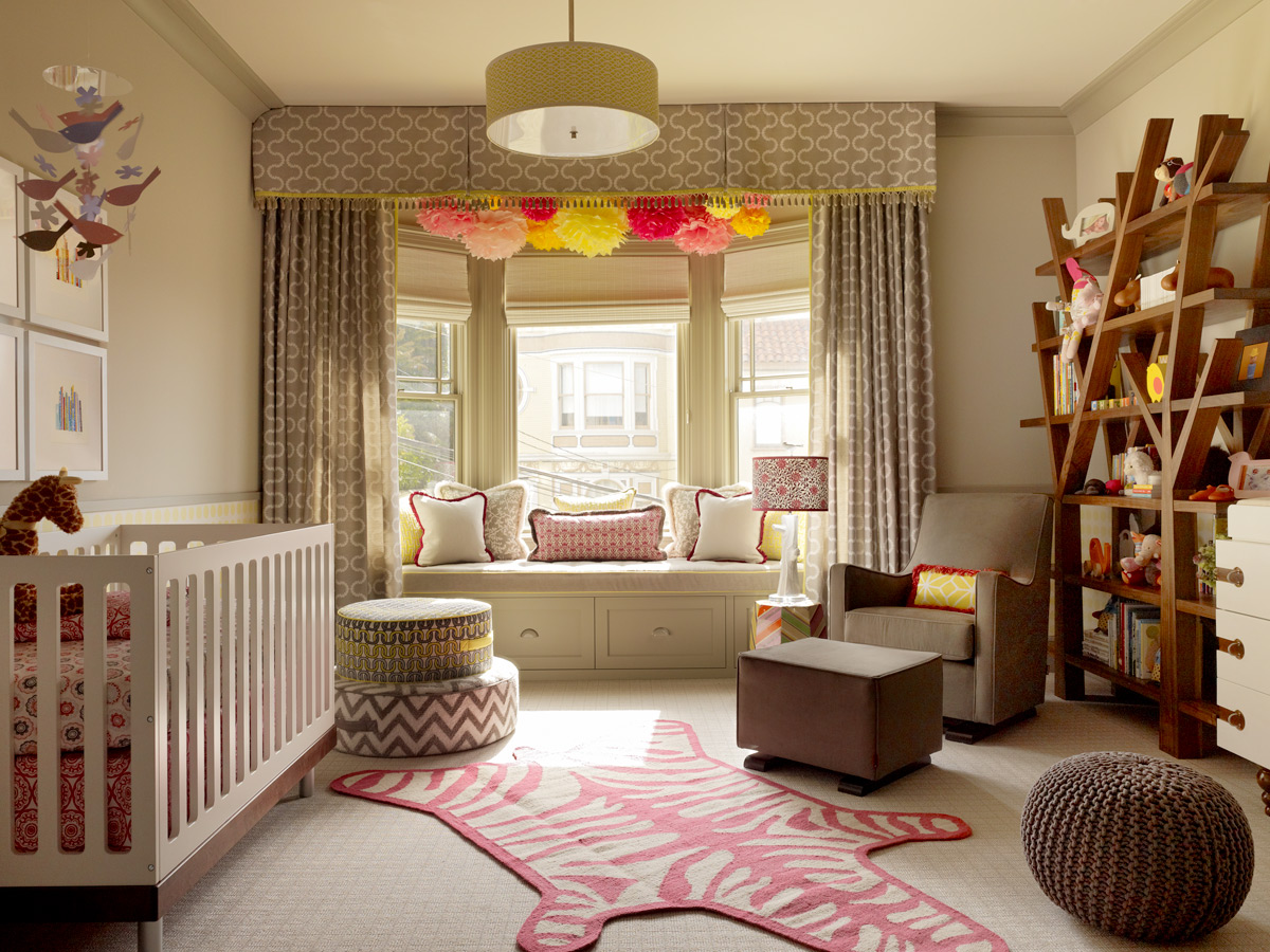 Image of: Girls Nursery Themes