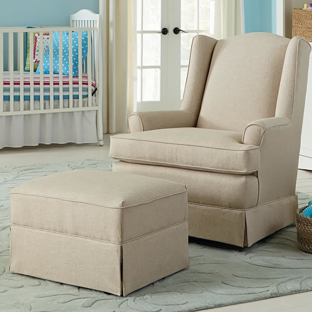 Picture of: Glider Rockers for Nursery in the Bed zoom