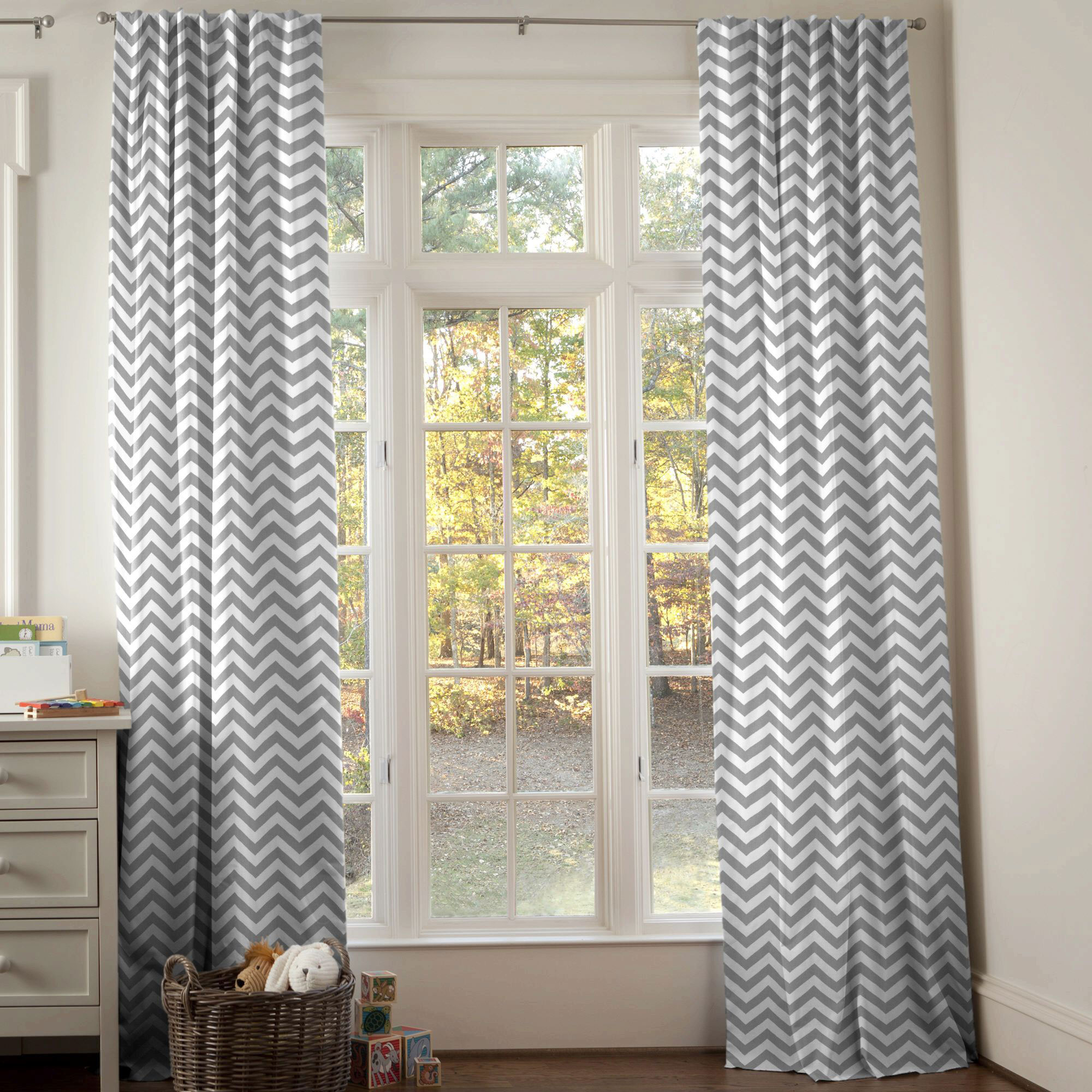 Image of: Good Blackout Curtains Nursery