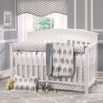 Gray Elephant Nursery Bedding