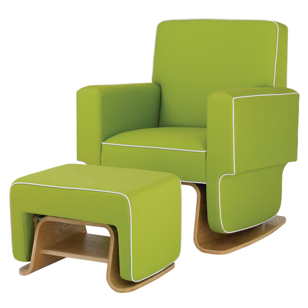 Picture of: Green Nursery Recliner
