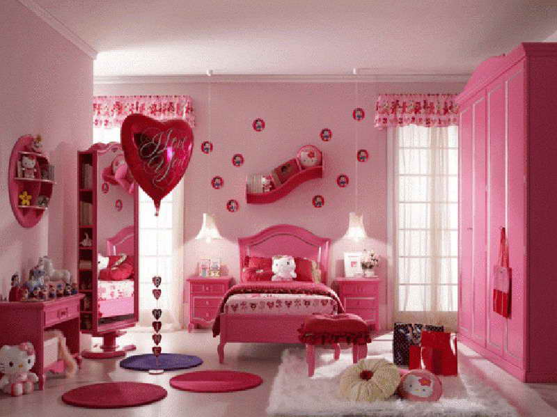 Image of: Hello Kitty Nursery Themes