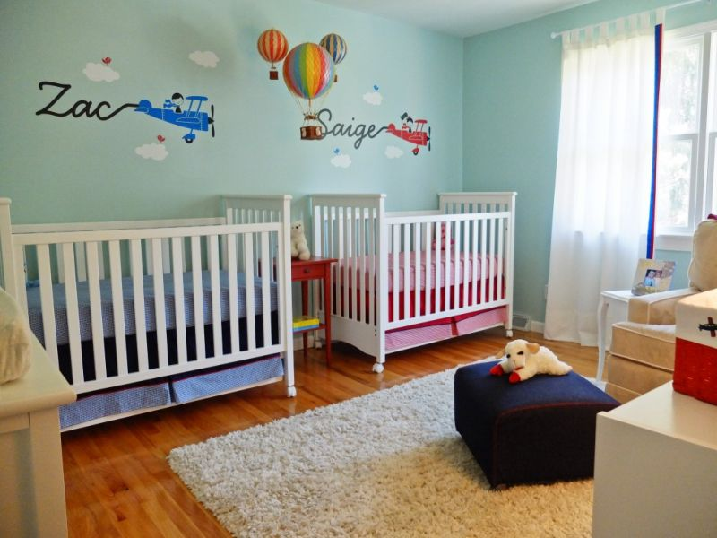 Image of: Hot Air Balloon Nursery 2015