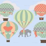 Hot Air Balloon Nursery Art