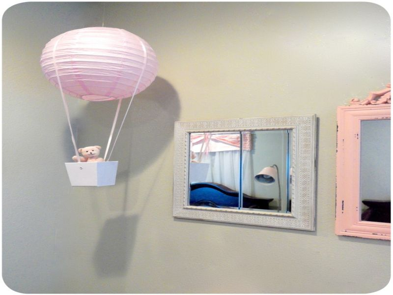 Image of: Hot Air Balloon Nursery DIY