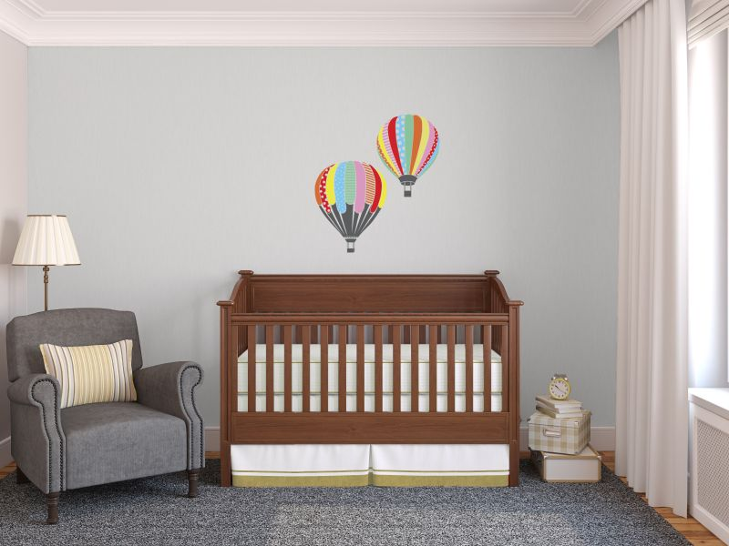 Image of: Interior of nursery.
