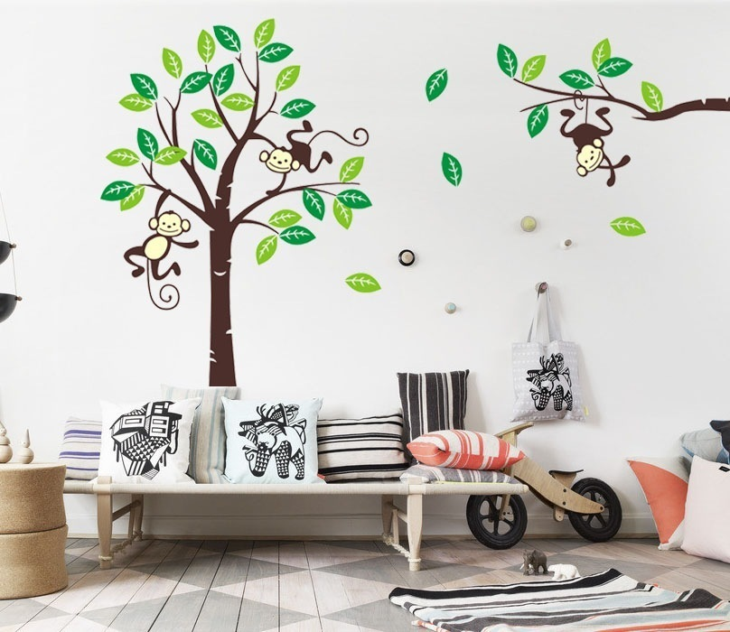 Image of: Image of Monkey Nursery Decor