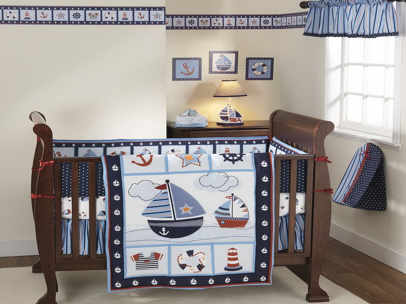 Picture of: Image of Nautical Themed Nursery