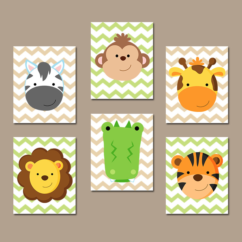 Image of: Images of Animal Prints for Nursery