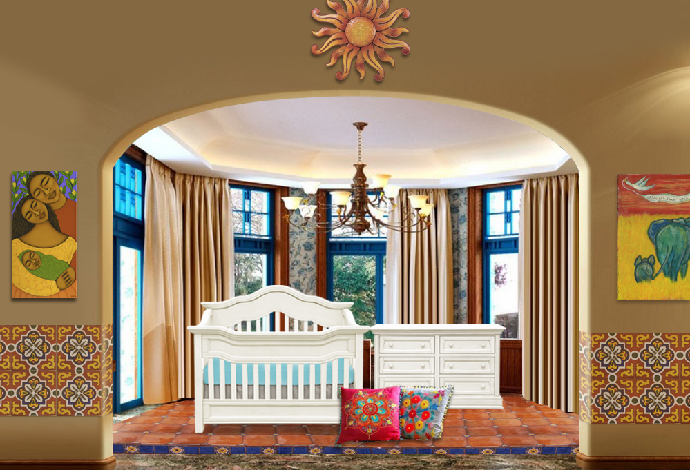 Picture of: Inspired Bohemian Nursery