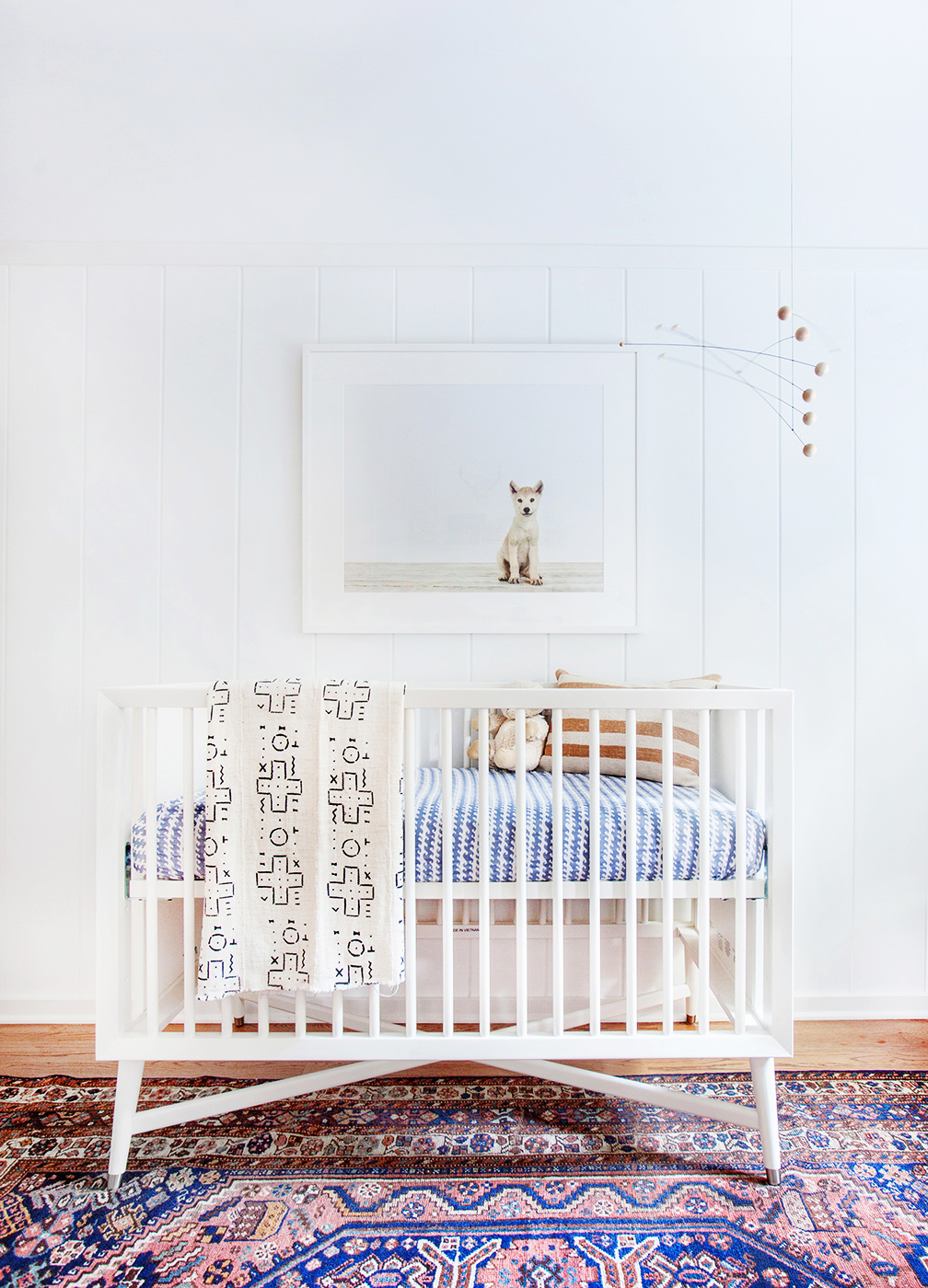 Image of: Interior Bohemian Nursery