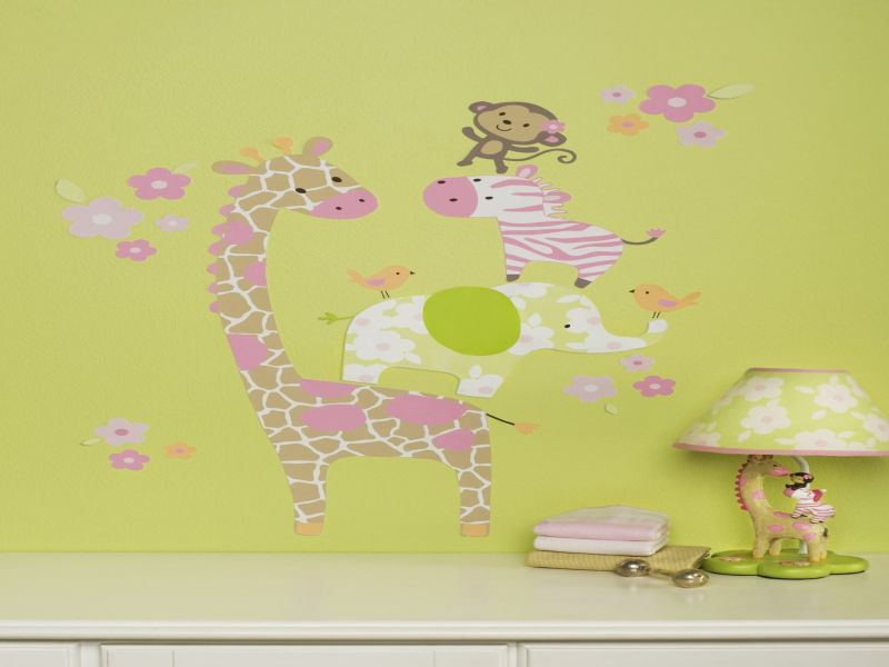 Picture of: Jungle Jill Nursery Art