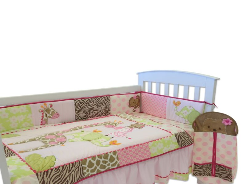 Picture of: Jungle Jill Nursery Bedding