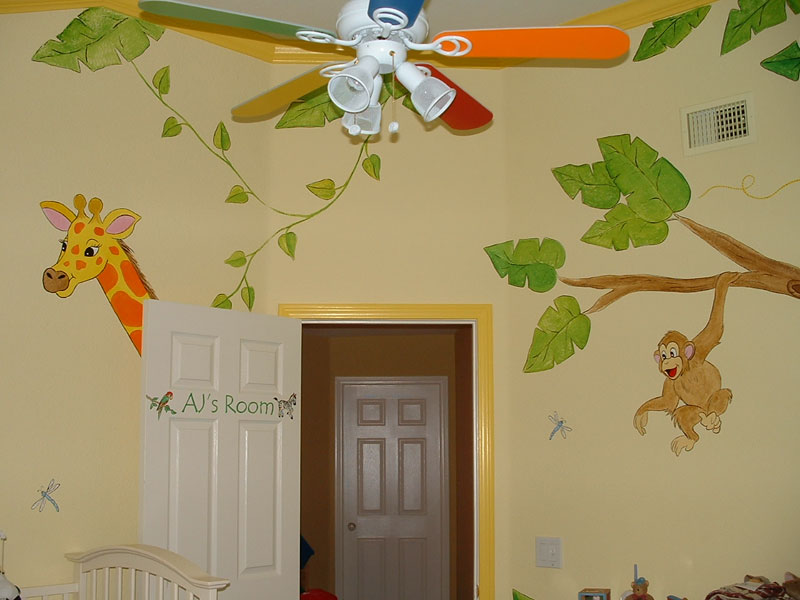 Jungle Theme Nursery Image