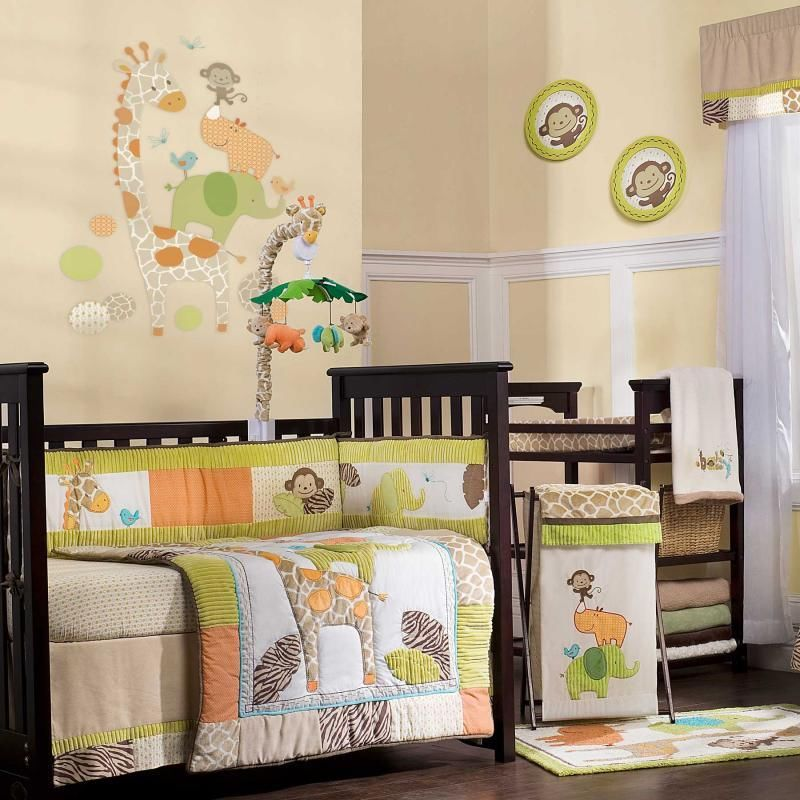 Picture of: Jungle Theme Nursery Photos
