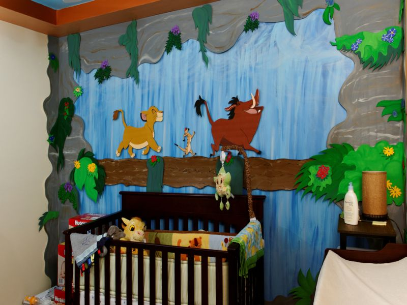 Picture of: Lion King Nursery Attractive