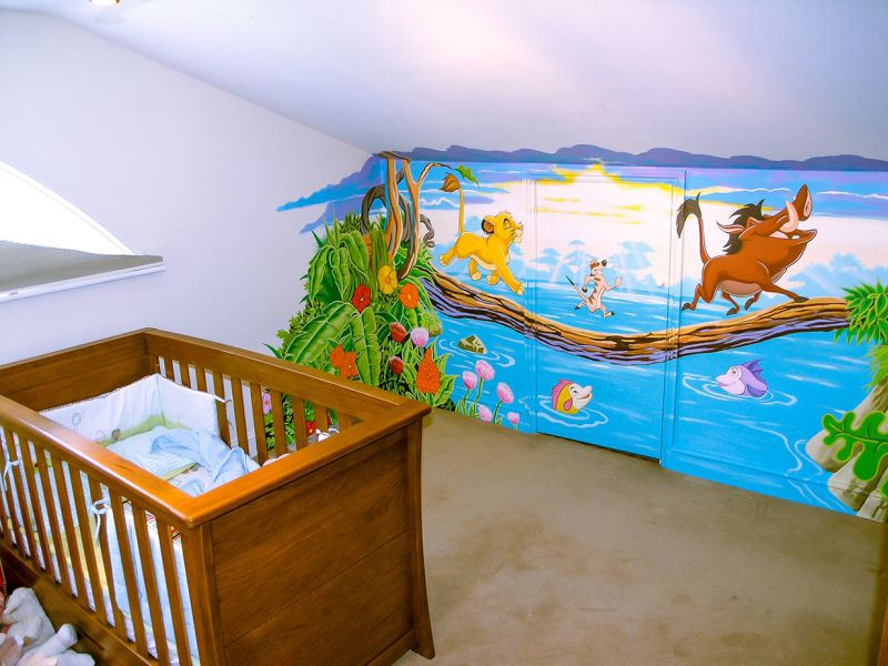 Picture of: Lion King Nursery Decorative