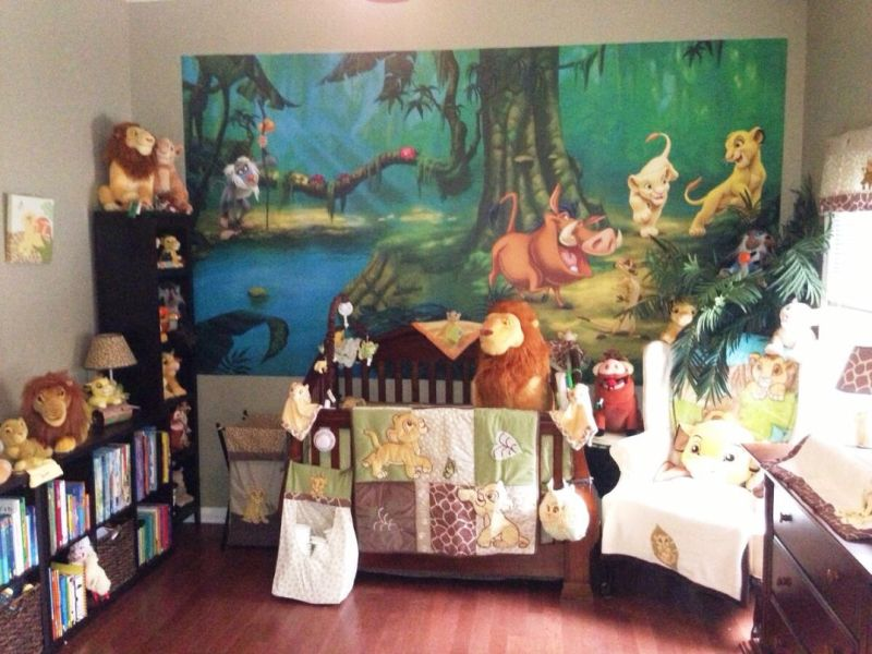Picture of: Lion King Nursery Images