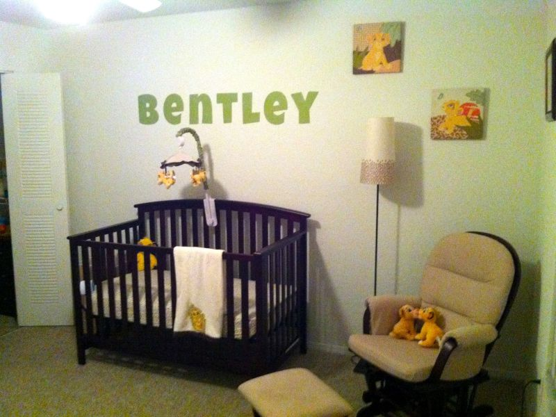 Picture of: Small Lion King Nursery Simple Design