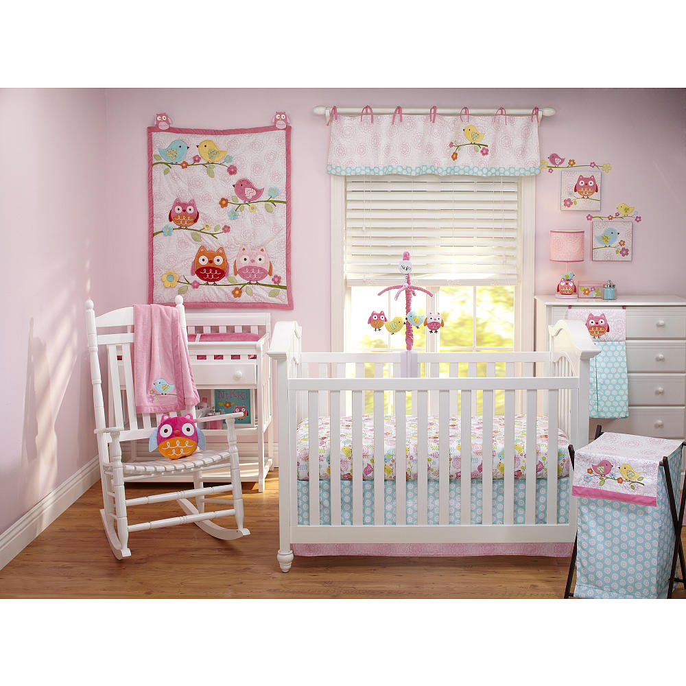 Picture of: Love Bird Nursery Bedding