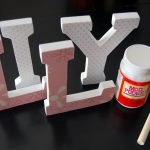Make Wall Letters For Nursery