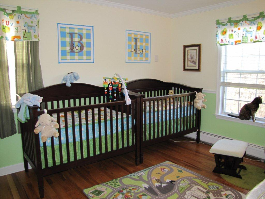 Picture of: Minimalist Twin Nursery Ideas