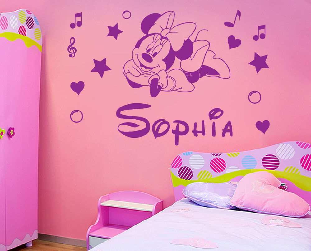 Picture of: Minnie Mouse Nursery Style