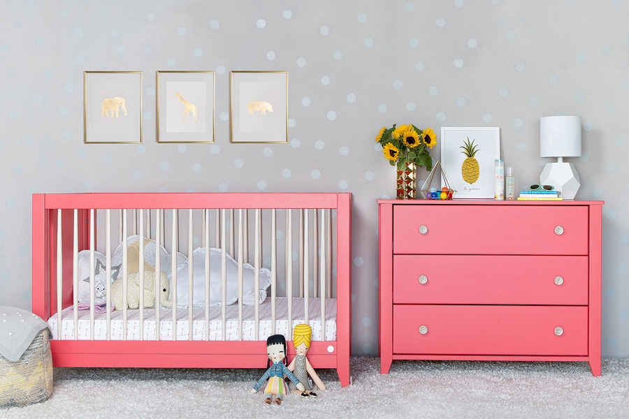 Picture of: Modern Nursery Bedding Image